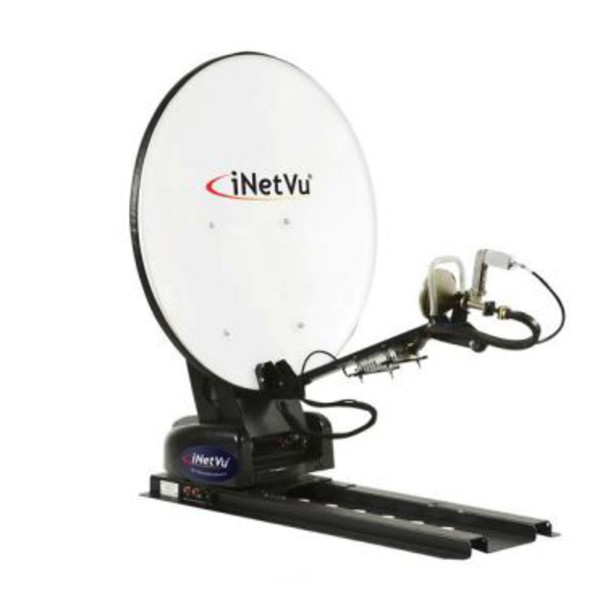 iNetVu, auto-acquisition antenna