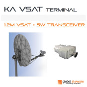 Global Skyware 1.2M Ka-Band Antenna